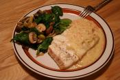 Oven Roasted Halibut