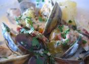 Simple Oyster Chowder