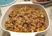 Homemade Oyster Stuffing