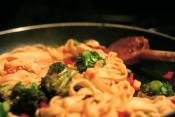 Pasta Primavera With Mushrooms