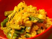 Pasta Risotto With Asparagus