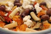 Pasta With Eggplant And Tomatoes