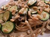 Pasta With Mushrooms And Pine Nuts