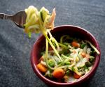 Homemade Pasta With Spring Vegetables