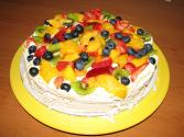 Pavlova With Fruits