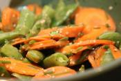 Peas And Carrot Salad
