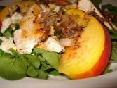 Peach Blue Cheese Salad