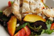 Peach And Cheese Salad