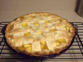 French Crunch Peach Pie