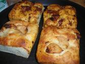 Pepper Cheese Focaccia