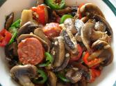 Pepper And Mushroom Stir Fry