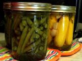 Vinegar Pickled Green Beans