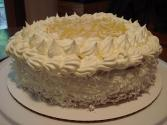 Pineapple-coconut Cake