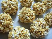Popcorn Balls Using Molasses