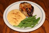 Green Bean Pork Chop Supper 