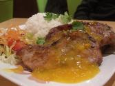 Pork Chops In Orange Sauce