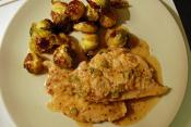 Pork Escalopes With Mustard Sauce