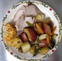 Pork Loin Roast With Thyme