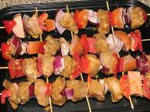 Pork & Melon Skewers