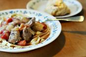 Pork Stew With Tomatoes And Peppers