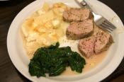 Pork Tenderloin Saute