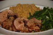 Pork Tenderloin With Apple Stuffing