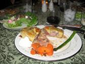 Roast Duckling With Port Wine Sauce