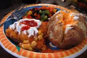 Stuffed Potato Boats