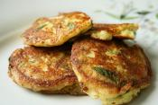 Sesame Potato Pancakes