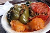 Crab And Potato-stuffed Peppers