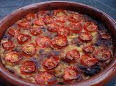 Potato And Tomato Pie