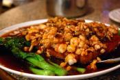 Prawns In Black Bean Sauce