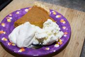 Pumpkin Whipped Cream Pie