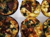 Golden Mini Quiches