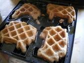Quick Oat Waffles