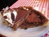 Raisin Chocolate Pie