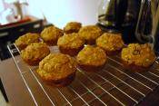 Danish Rum-raisin Muffins