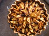 Lattice Topped Raisin Pie
