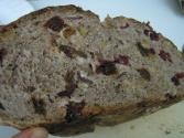 Round Raisin Whole-wheat Bread
