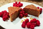 Raspberry And Lemon Polenta Cake