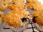 Lemon/raspberry Streusel Muffins