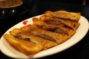 Banana Stuffed With Sweet Red Bean Paste
