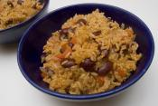 Easyred Beans And Ricewith Sausage
