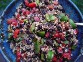 Red Bean And Rice Salad