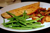 Red Snapper With Butter And Shallot Sauce