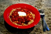 Red Kidney Bean Chili