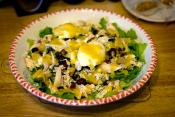 Red Pear & Cheese Salad