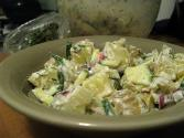 Red Potato Salad With Yogurt