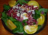 Red Spinach Salad