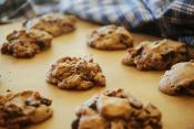 Refrigerator Cookies Using Pastry Flour